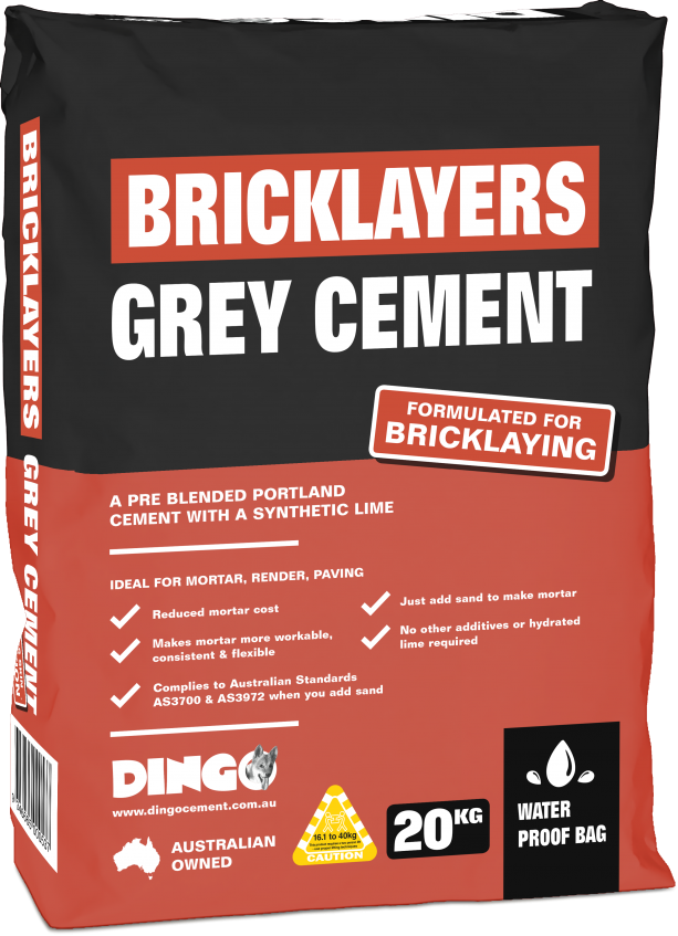 DINGO-BAGS-3D-20kg-BRICKLAYERS-GREY-CEMENT